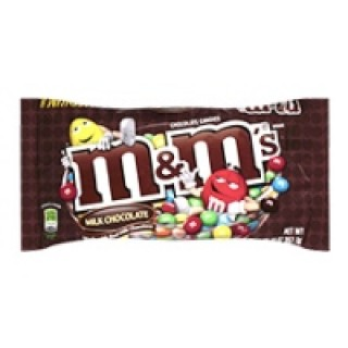 M and M Milk Chocolate Snack