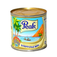 Peak Milk Evaporated Milk 160l