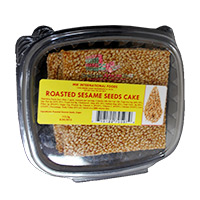 Roasted Sesame Seeds Cake