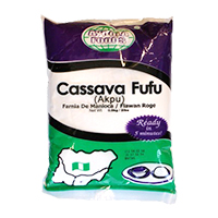 Cassava Fufu Big