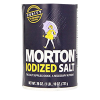 Salt Iodized Morton